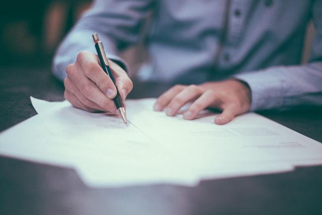 Ecrire une lettre pour intégrer la formation BTS NDRC
